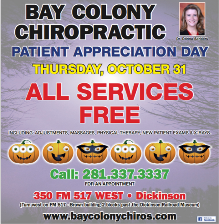Bay Colony Chiros - Patient Appreciation Day